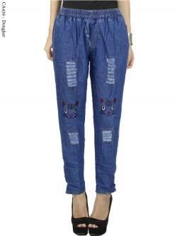 CA436 Celana Jeans Anak Tanggung/ABG bordir
