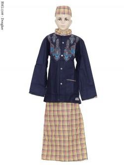 BML1308 (7-12) Baju Koko Anak Celana Sarung