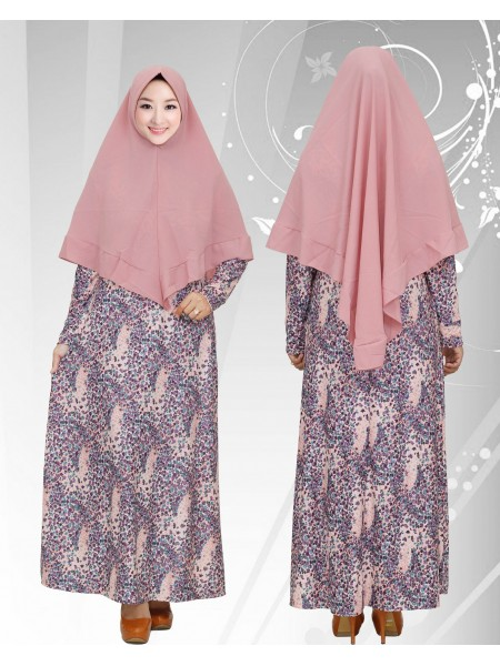 GKS1652 Gamis Syar'i Misby