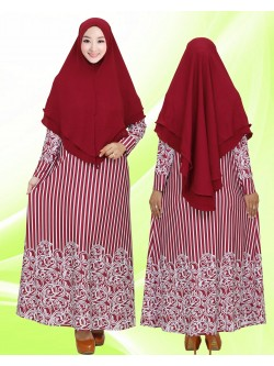 GKS1653 Gamis Syar'i Misby