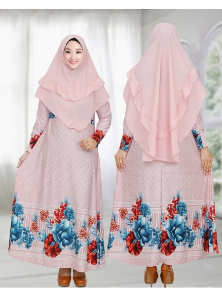 GKS1656 Gamis Syar'i Misby