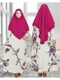 GKS1657 Gamis Syar'i Misby