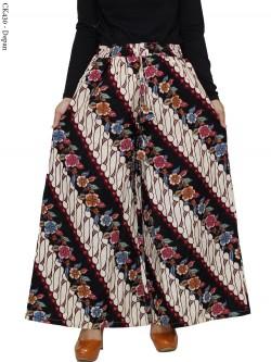 CK430 Celana Kulot Jumbo Katun Linen Batik