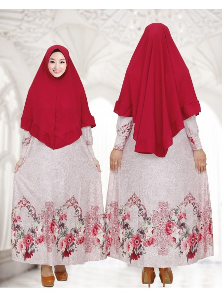 GKS1659 Gamis Syar'i Misby Pet