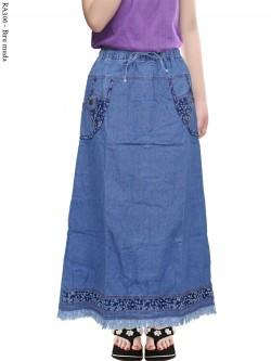 RA306 Rok Jeans Anak Tanggung Rawis 6-11th