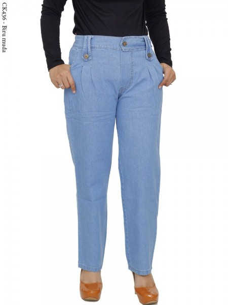 CK436 Celana Kulot Jeans