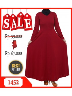 GKS1452 Gamis Jersey Umbrella Polos