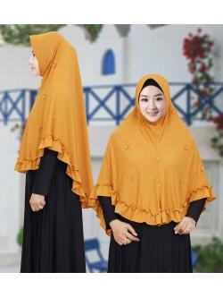 JL900 Jilbab Jersey Twist Renda Melati