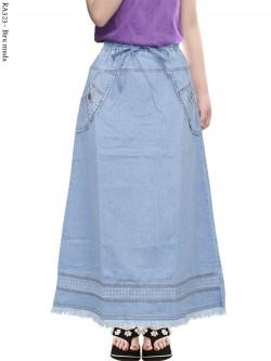 RA323 Rok Jeans Anak Tanggung Rawis 9-12th