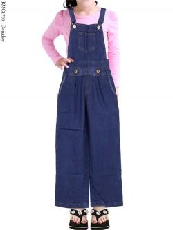 BMC1700 Overall Jeans Anak Celana Kulot