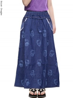 RA326 Rok Jeans Anak Hello Kitty