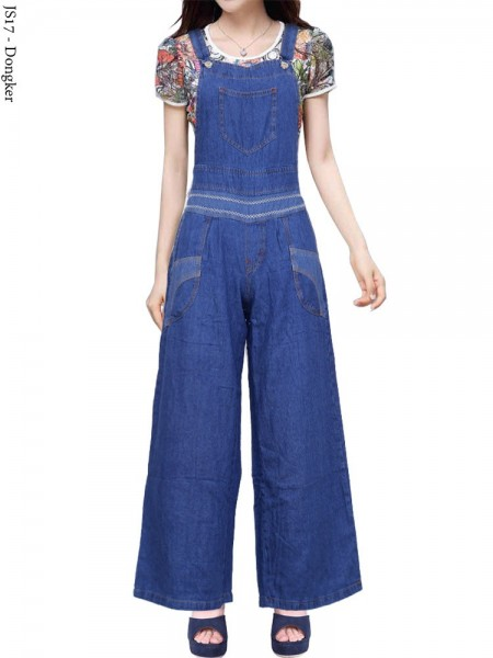 JS17 Overall Kulot Jeans