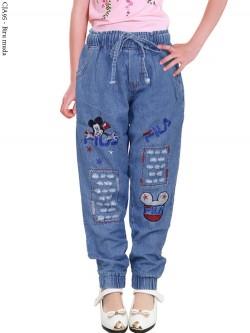 CJA95 Celana Jogger Anak Bordir Mickey Mouse