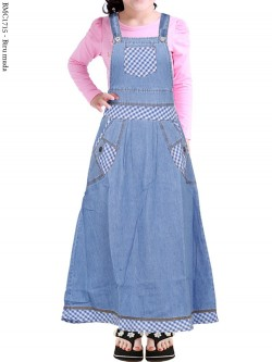 BMC1715 (16-20) Overall Jeans Anak 5-8th