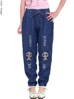 CJA96 Celana Jeans Anak panda 4-7th