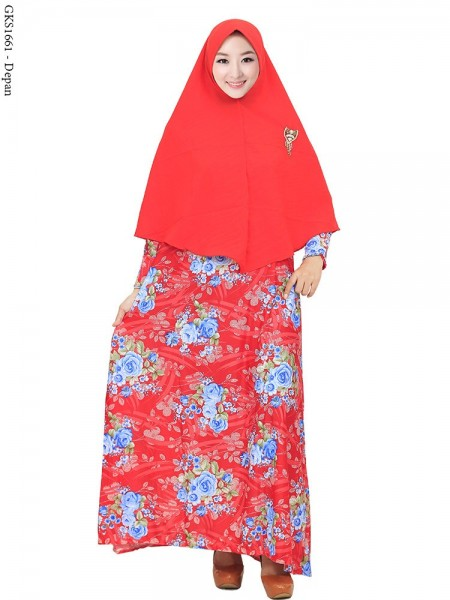 GKS1661 Gamis Syar'i Misby Pet