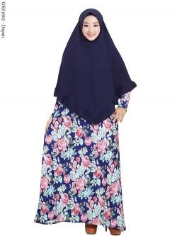 GKS1662 Gamis Syar'i Misby Hijab Syiria