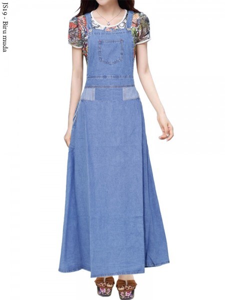 JS19 Overall Maxi Jeans Remaja