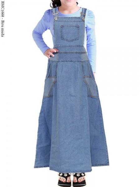 BMC1668(16-20) Overall Jeans Anak