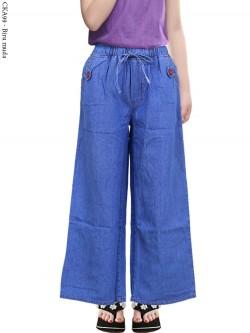 CKA99 Celana Kulot Jeans Anak Tanggung
