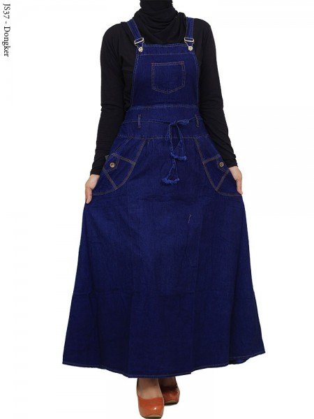 JS37 Overall Maxi Jeans Remaja