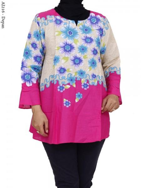 Aj216 Atasan Jumbo Katun Batik