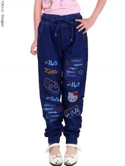 CJA112 Jogger Jeans Anak FilaKitty