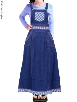 BMC1733(16-20) Overall Jeans Anak 5-8th