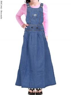 BMC1692 Overall Jeans Anak Tanggung