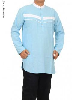BK652 Baju Koko Kurta Lengan Panjang Albatar