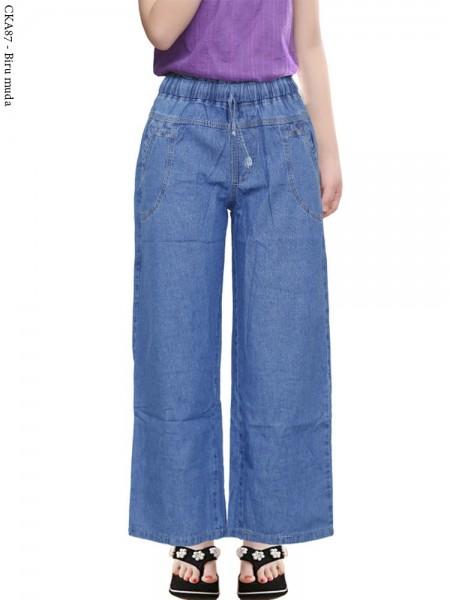 CKA87 Celana Kulot Jeans Anak