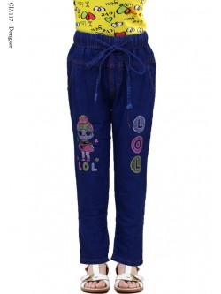 CJA117 Celana Jeans Anak Slimfit LOL 3-6th