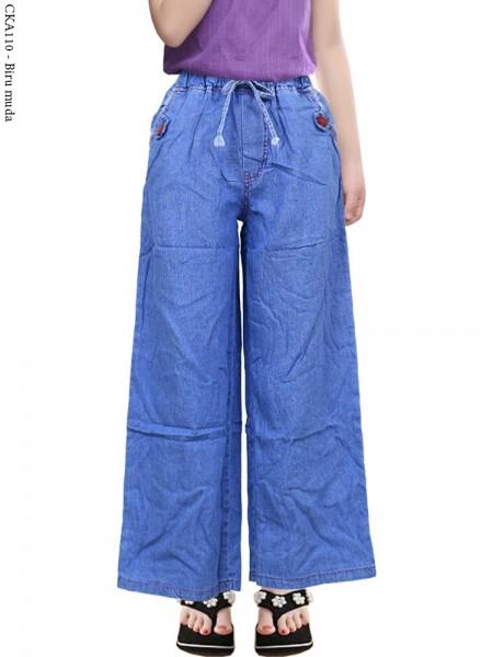 CKA110 Celana Kulot Jeans Anak Tanggung
