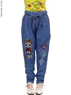 CJA119 Celana Jeans Anak Slimfit LOL