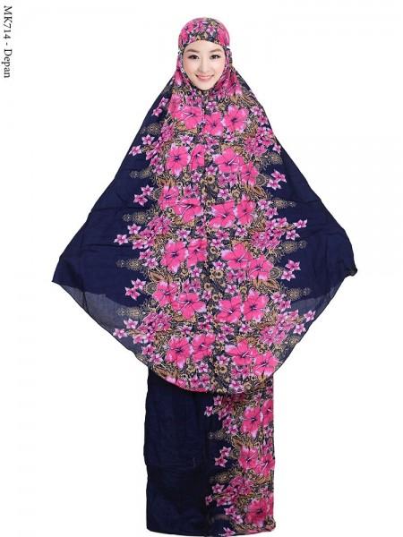 MK714 Mukena Bali Bunga