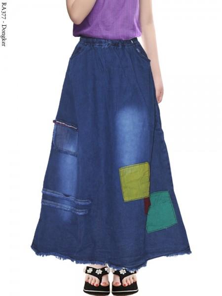 RA377 Rok Jeans Anak Tanggung Rawis