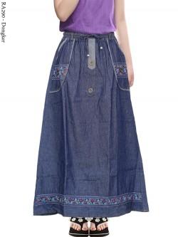 RA290 Rok Jeans Anak Tanggung 7-12th