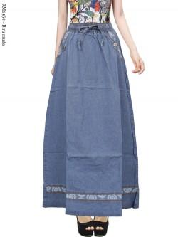 RM1450 Rok Jeans Remaja List Motif