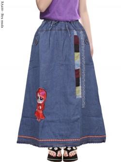 RA400 Rok Jeans Anak LOL LED Nyala