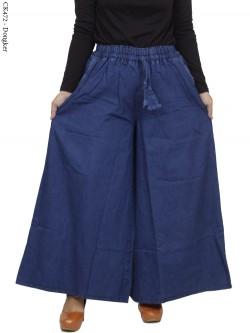 CK472 Celana Kulot Jeans Jumbo