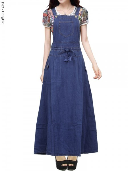 JS47 Overall Maxi Jeans Remaja