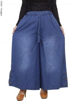 CK467 Celana Kulot Jeans Jumbo