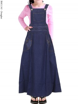 BMC1767(16-20) Overall Jeans Anak 5-8th