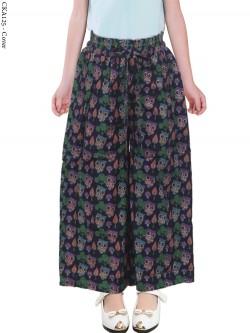 CKA125 Celana Kulot Anak Katun Linen