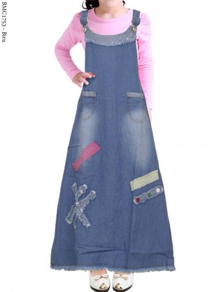 BMC1753 Overall Jeans Anak