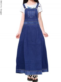 BMC1774(16-20) Overall Jeans Anak 5-8th