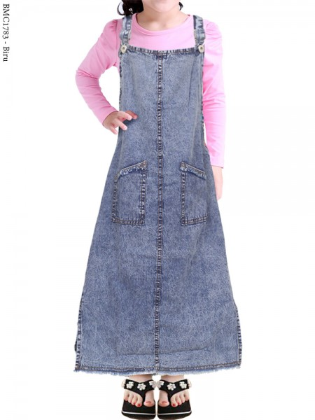 BMC1783 Overall Jeans Anak 5-9th
