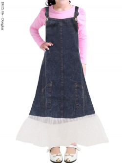 BMC1784 Overall Jeans Anak mix Sifon