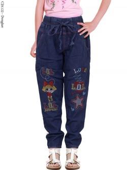 CJA122 Celana Jeans Anak Slimfit LOL