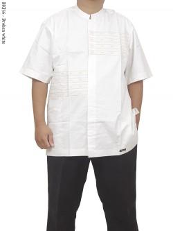 BKJ56 Baju Koko Albatar Jumbo Bordir
